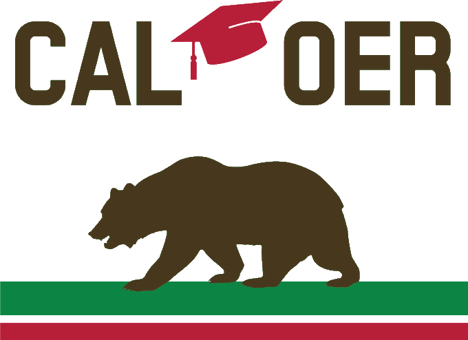 Cal OER conference logo